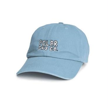 POLAR SKATE CO.  POLAR SK8 CO. CAP- POWDER BLUE