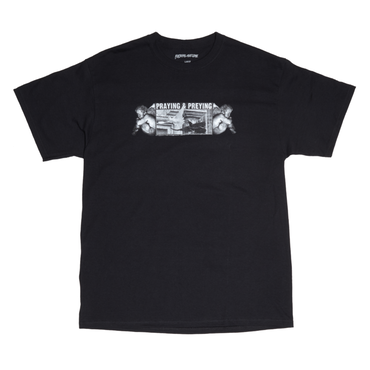 FUCKING AWESOME Preying Tee-BLACK