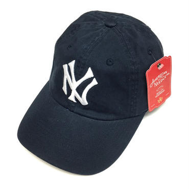AMERICAN NEEDLE MLB 6PANEL CAP NEWYORK YANKEES - NAVY