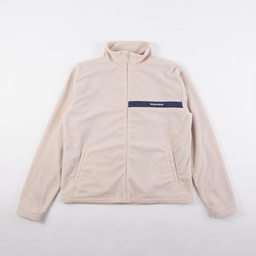 GRIND LONDON FLEECE JACKET-CREAM