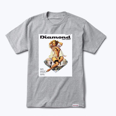 Diamond Supply Co.CENTERFOLD TEE-GREY