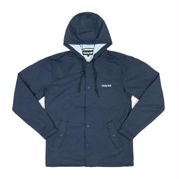 ONLY NY Lodge Hooded Coach Jacket-Navy