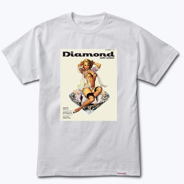 Diamond Supply Co.CENTERFOLD TEE-WHITE