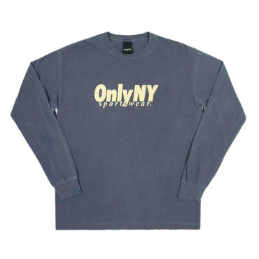 ONLY NY Breakline L/S T-Shirt - Vintage Blue