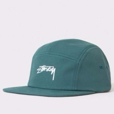 STUSSY SMOOTH STOCK CAMP CAP-TEAL