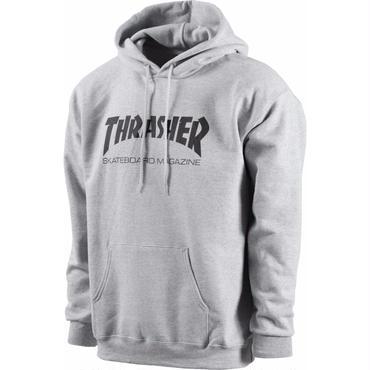 THRASHER SKATE MAG HOOD Grey
