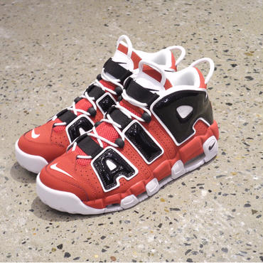 NIKE AIR MORE UPTEMPO '96-Red/Black/White