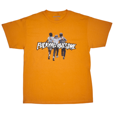 FUCKING AWESOME Friends Tee-PEACH