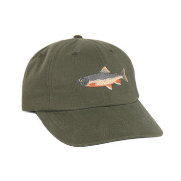 ONLY NY Brook Trout Polo Hat - Olive