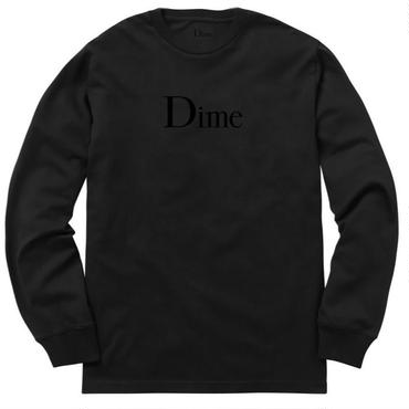 Dime DIME CLASSIC LONG SLEEVE T-SHIRT-Black