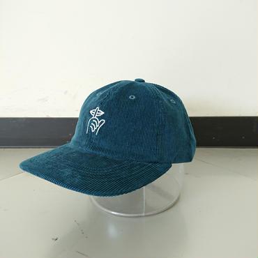THE QUIET LIFE SHHH POLO CAP-Ocean blue-