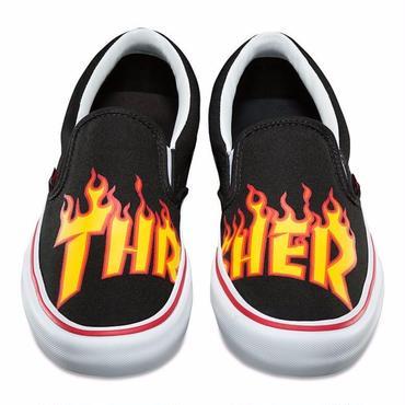 THRASHER×VANS SLIP-ON PRO-Black