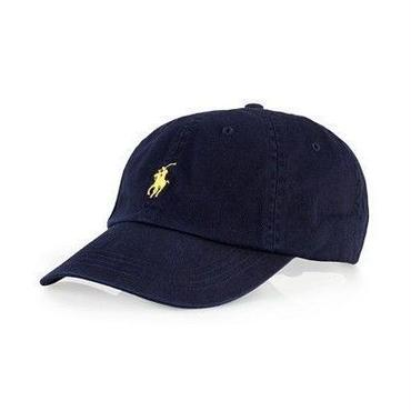 POLO RALPH LAUREN CLASSIC SPORTS CAP - NVY  / YLW