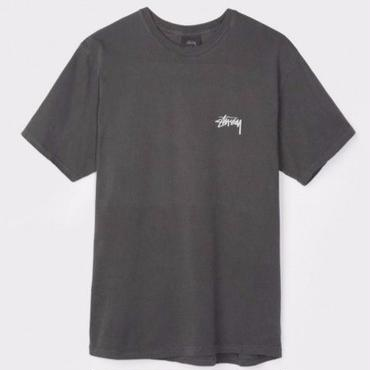STUSSY DICE PIGMENT DYED TEE-BLACK