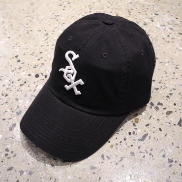 AMERICAN NEEDLE MLB 6PANEL CAP  CHICAGO WHITE SOX - BLACK アメリカンニードル 6パネル キャップ シカゴ ホワイト ソックス ブラック