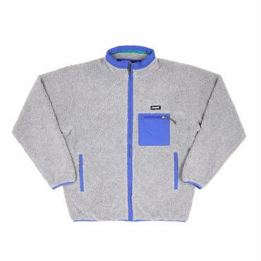 ONLY NY Alpine Fleece Jacket-Heather Grey