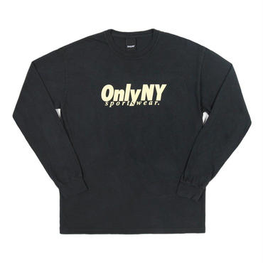 ONLY NY Breakline L/S T-Shirt - Vintage Black