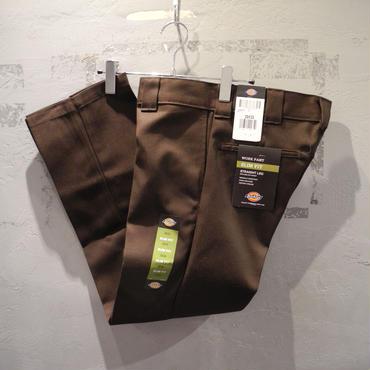 Dickies Slim Fit 873 Work Pants - Chocolate Brown