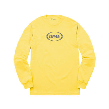 Dime DIME FAST LONG SLEEVE SHIRT-Yellow & Gray.