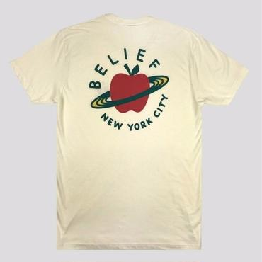 BELIEF CITY SPACE TEE - CREAM