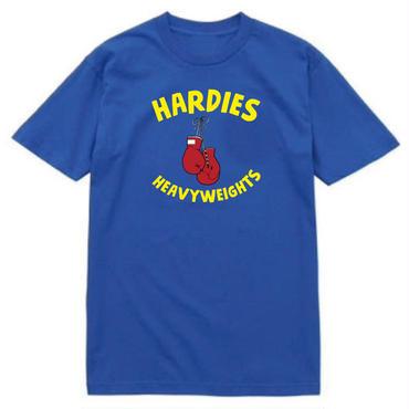 HARDIES HARDWARE HEAVY WEIGHTS TEE-ROYAL
