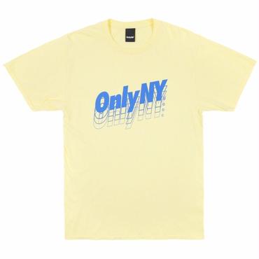 ONLY NY Beta Logo T-Shirt-Lemon