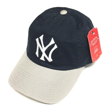 AMERICAN NEEDLE MLB 6PANEL CAP NEWYORK YANKEES - NAVY/GRAY