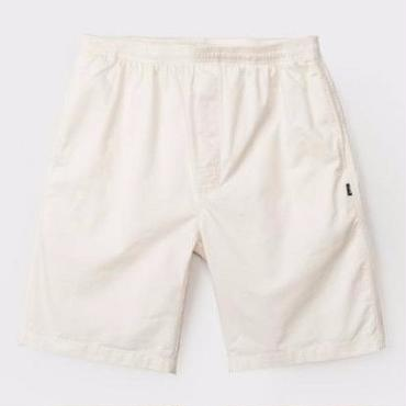 STUSSY Light Twill Beach Short-Natural