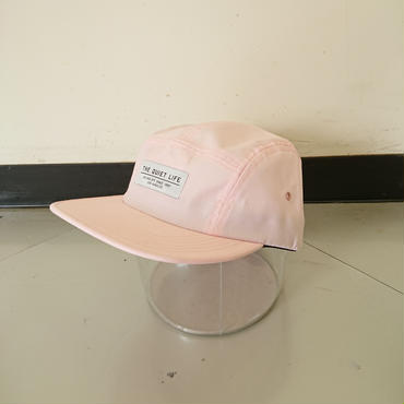 THE QUIET LIFE FOUNDATION 5 PANEL CAP-Pink-