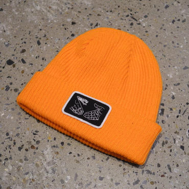 DOOM SAYERS Snake Shake Beanie Orange