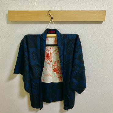 アンティーク羽織(格子)