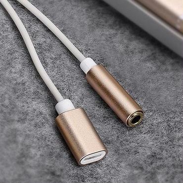 iPhone7/iPhone7Plus用2in1ライトニングポート