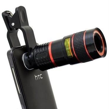 スマートフォン用光学8倍望遠レンズ