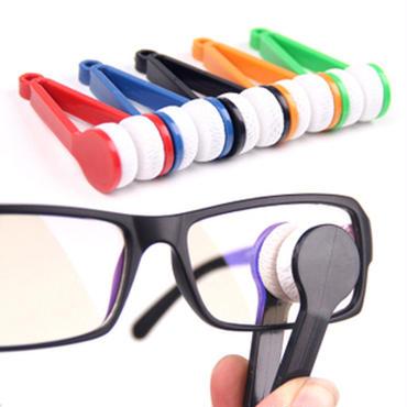 マイクロファイバー眼鏡クリーナー サングラスにも