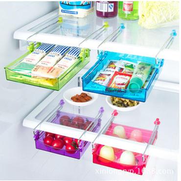 スライド小物ケース 冷蔵庫やテーブルのスペースを有効活用