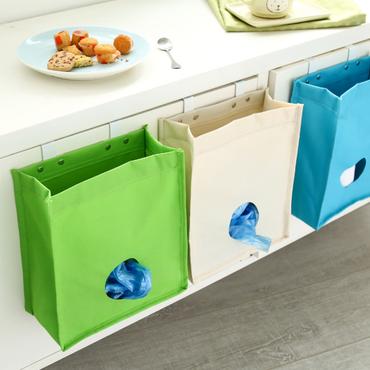 流し台に設置するゴミ袋収納ケース
