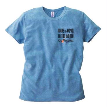 メンズTシャツ・ブルー