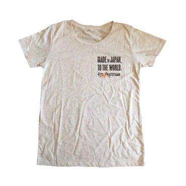 レディースTシャツ・オーロラヘザー