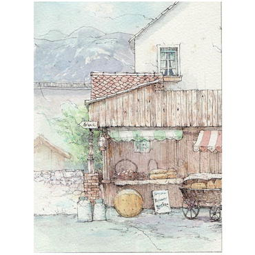 村のチーズ屋(スイス・インターラーケン)