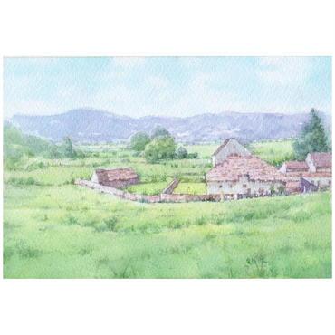 牧場(まきば)の朝(イギリス・湖水地方)