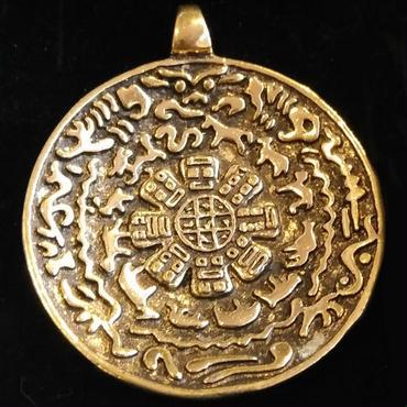 悪い風水を解消させるチベットのお守り「九宮八卦鏡」