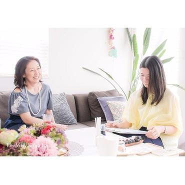 ◇「わたし」という花を咲かせる♡アロマブレンドセッション  3か月コース