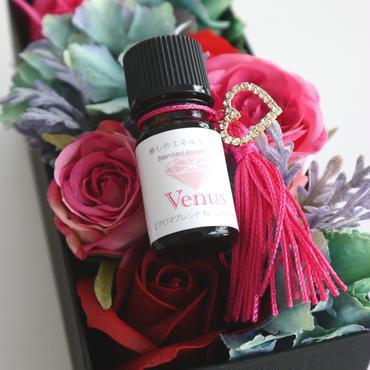 ●Venus(ヴィーナス) 【子宮美人アロマブレンド】5ml ✳︎活用レシピ付