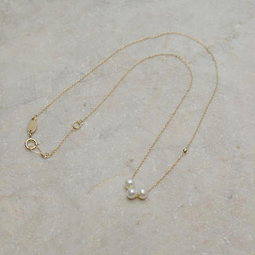 アコヤ真珠3粒ペンダントネック(k3pn)