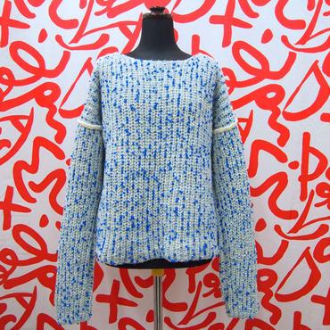 Pon Pon Knit < L.Blue >