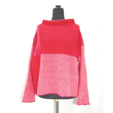 Combination knit <Pink> _ Ladies S / Ladies F