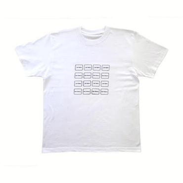 J'ai faim Tray Half Sleeves T-shirt