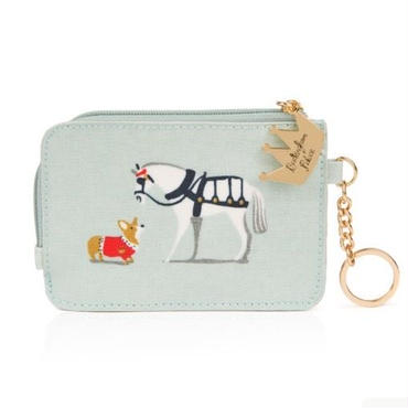 Royal Carriage & Corgi Passcase パスケース