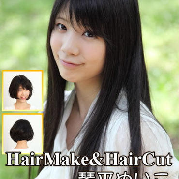 HQ-35 Hairmake&HairCut 琴平めいこ DVD