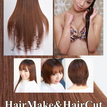 Hairmake&HairCut  真木 未来 DVD